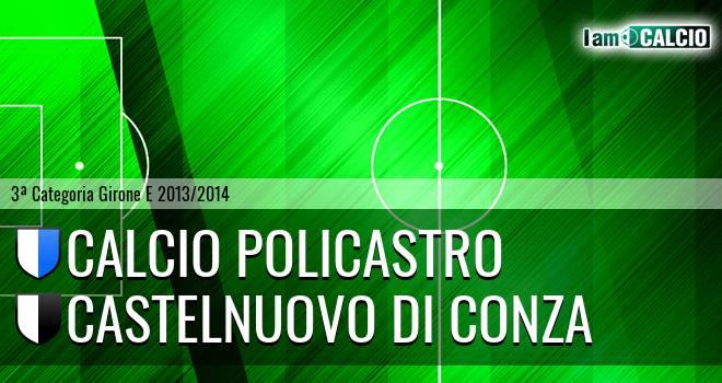 Calcio Policastro - Castelnuovo di Conza