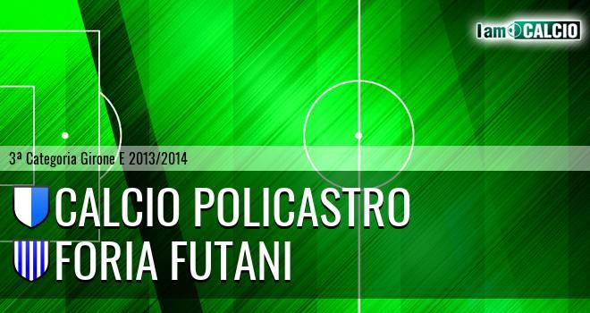 Calcio Policastro - Foria Futani