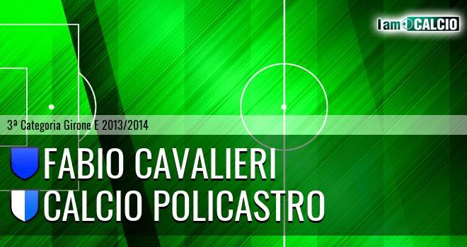 Fabio Cavalieri - Calcio Policastro