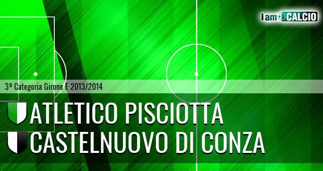 Atletico Pisciotta - Castelnuovo di Conza