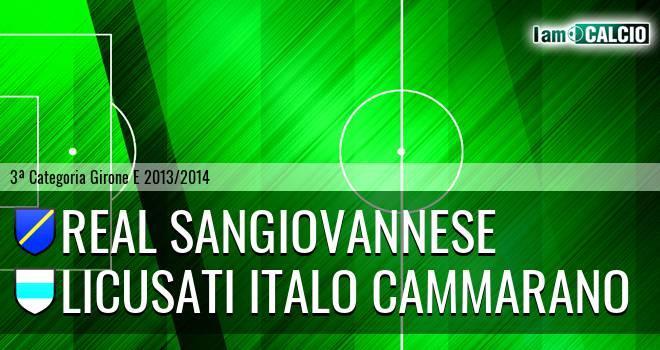 Real Sangiovannese - Licusati