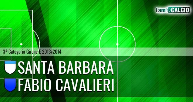 Santa Barbara - Fabio Cavalieri
