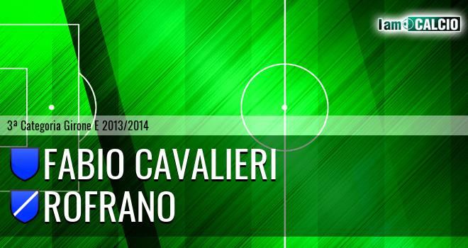 Fabio Cavalieri - Rofrano