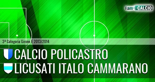Calcio Policastro - Licusati