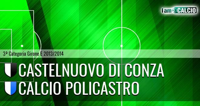 Castelnuovo di Conza - Calcio Policastro