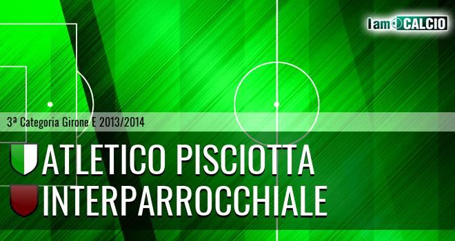 Atletico Pisciotta - Interparrocchiale