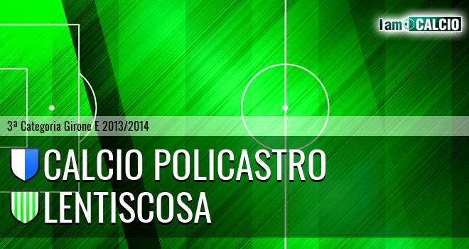 Calcio Policastro - Lentiscosa