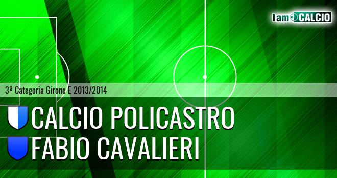 Calcio Policastro - Fabio Cavalieri