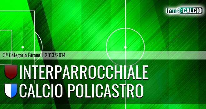 Interparrocchiale - Calcio Policastro