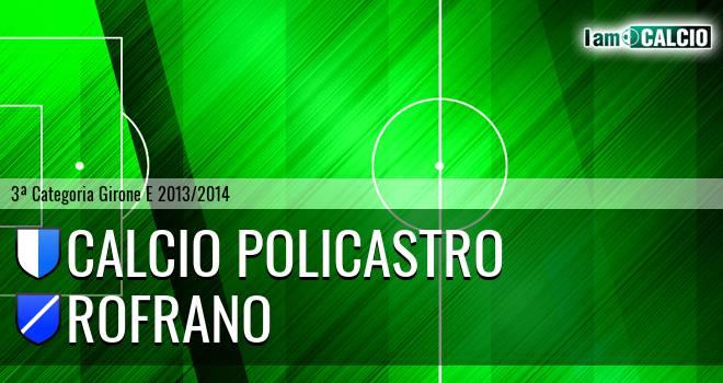 Calcio Policastro - Rofrano