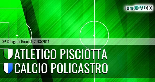 Atletico Pisciotta - Calcio Policastro