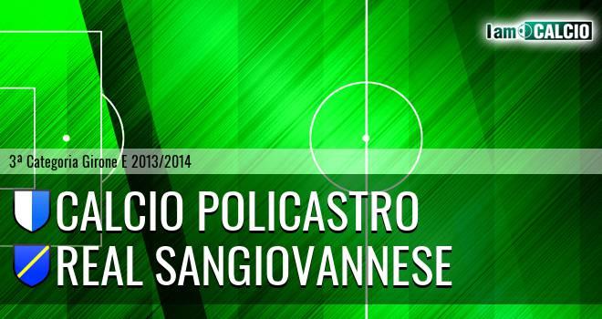 Calcio Policastro - Real Sangiovannese