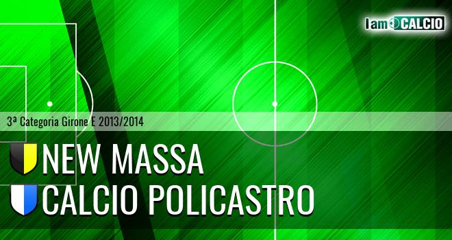 New Massa - Calcio Policastro