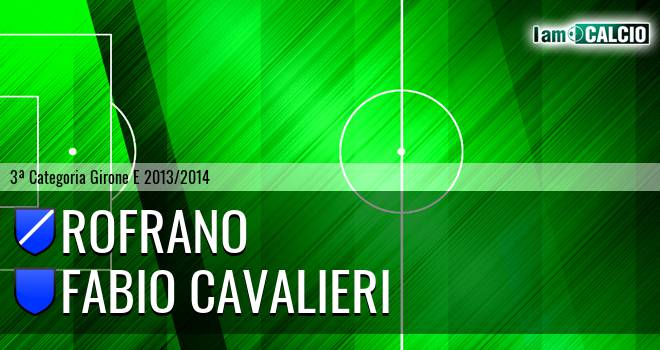 Rofrano - Fabio Cavalieri