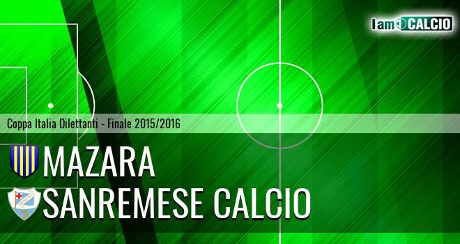 Mazara - Sanremese Calcio