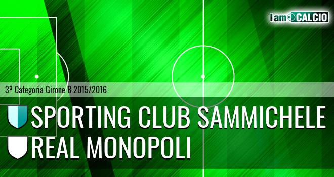 Sporting Club Sammichele - Real Monopoli