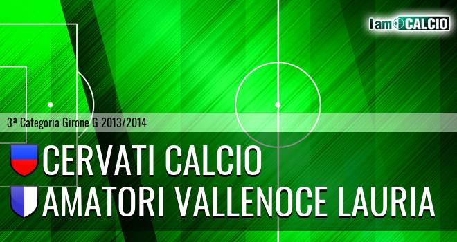 Cervati Calcio - Amatori Vallenoce Lauria