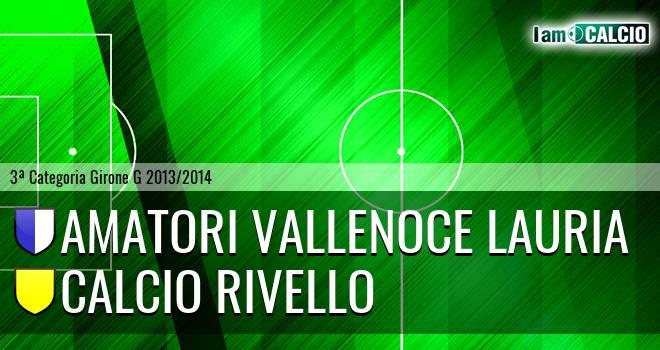 Amatori Vallenoce Lauria - Calcio Rivello