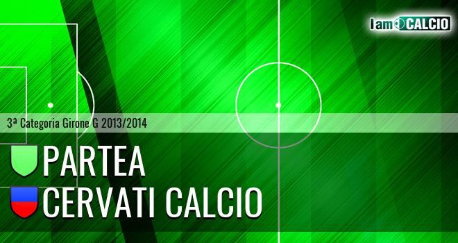Partea - Cervati Calcio