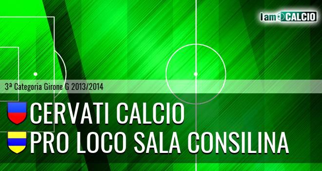 Cervati Calcio - Pro loco Sala Consilina