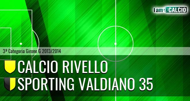 Calcio Rivello - Sporting Valdiano 35