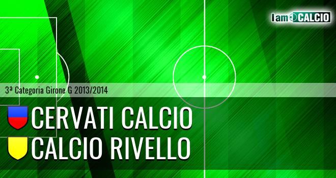 Cervati Calcio - Calcio Rivello
