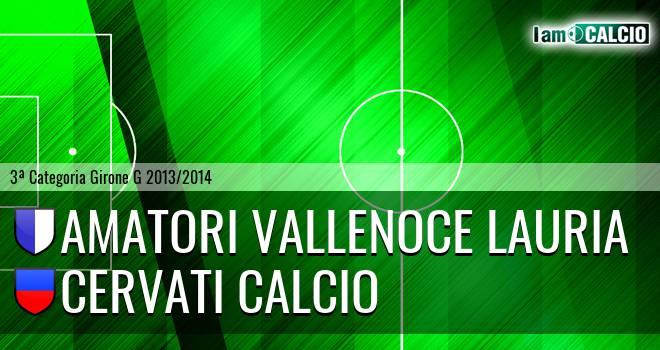 Amatori Vallenoce Lauria - Cervati Calcio