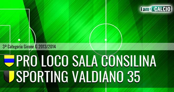 Pro loco Sala Consilina - Sporting Valdiano 35
