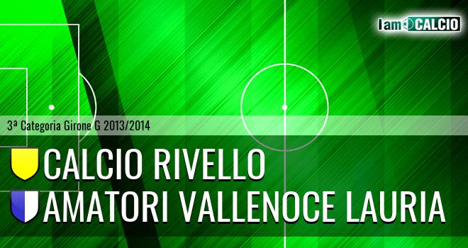 Calcio Rivello - Amatori Vallenoce Lauria