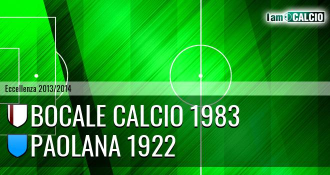 Boca Nuova Melito ADMO - Paolana 1922