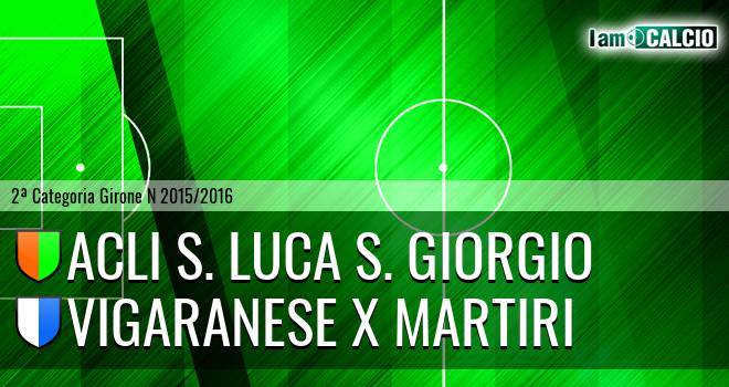 Acli S. Luca S. Giorgio - Vigaranese X Martiri