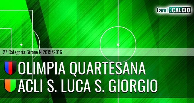 Olimpia Quartesana - Acli S. Luca S. Giorgio
