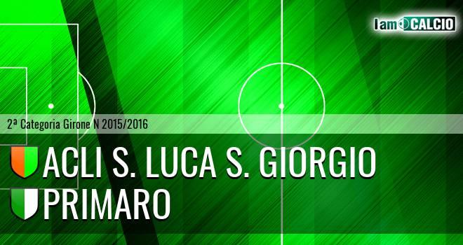 Acli S. Luca S. Giorgio - Primaro