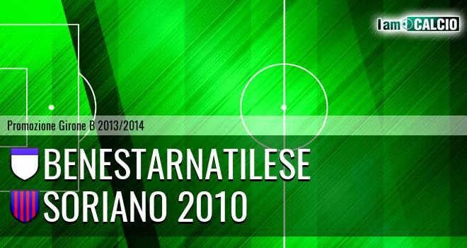 Benestarnatilese - Soriano 2010