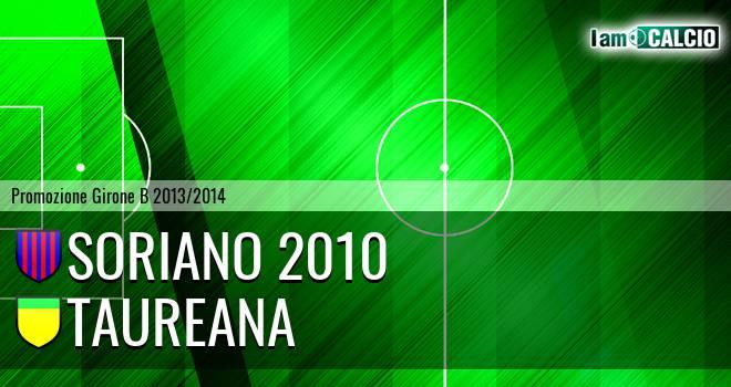 Soriano 2010 - Taureana