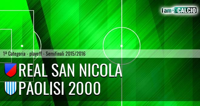 Real San Nicola - Paolisi 2000