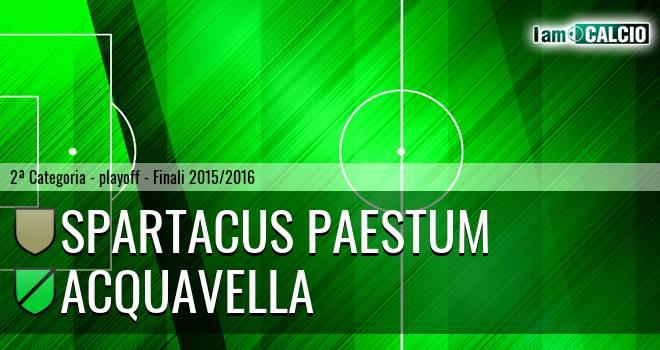 Spartacus Paestum - Acquavella
