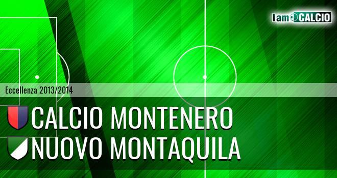 Calcio Montenero - Nuovo Montaquila