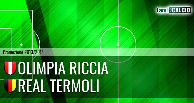 Olimpia Riccia - Real Termoli
