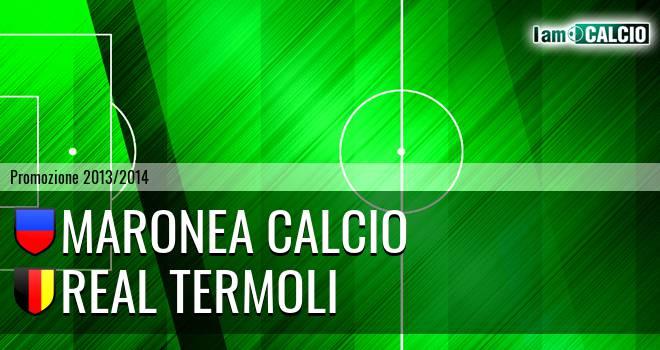 Maronea Calcio - Real Termoli