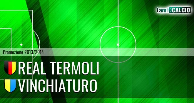 Real Termoli - Vinchiaturo