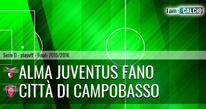 Alma Juventus Fano - Città di Campobasso