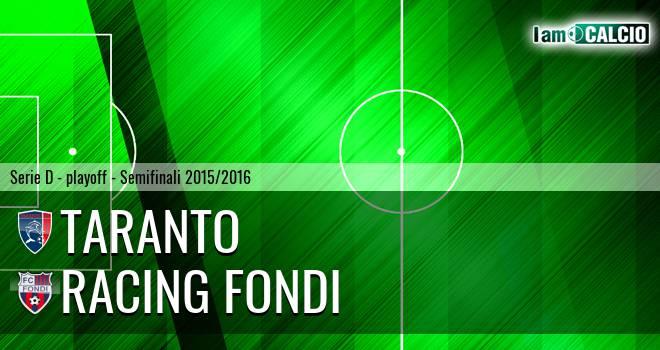 Taranto - Racing Fondi