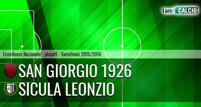 San Giorgio 1926 - Sicula Leonzio