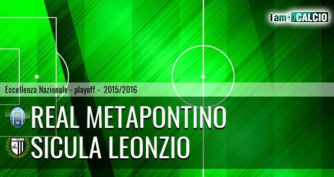 Real Metapontino - Sicula Leonzio