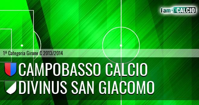 Campobasso Calcio - Divinus San Giacomo