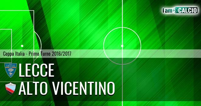 Lecce - Alto Vicentino