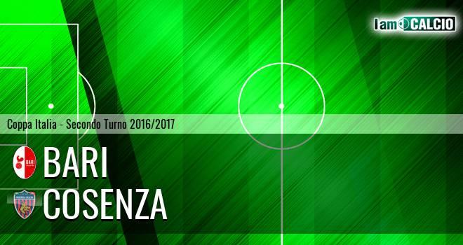 Bari - Cosenza