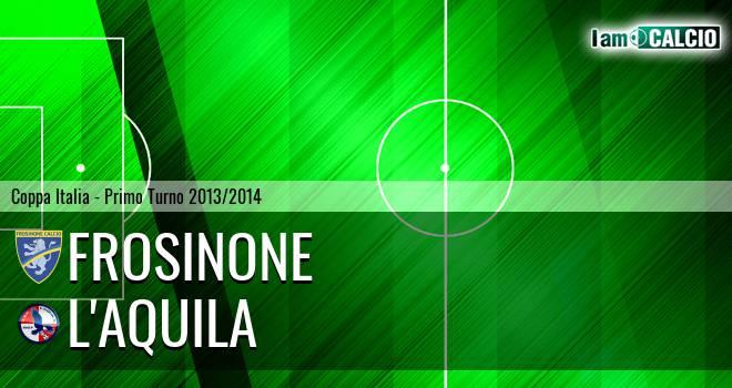 Frosinone - L'Aquila