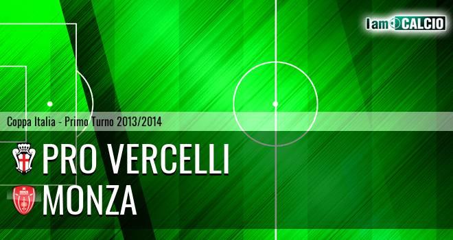 Pro Vercelli - Monza